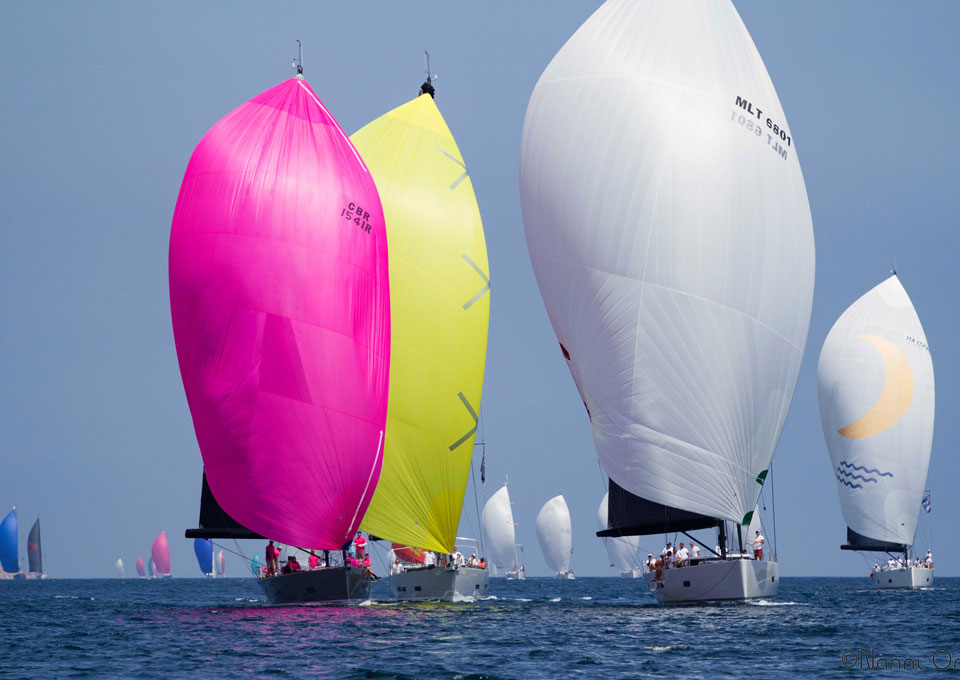 regatta racing sailing trimmkurs swiss nautic